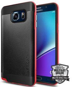 SPIGEN Neo Hybrid Case for Samsung Galaxy Note 5 - Red