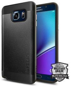 SPIGEN Neo Hybrid Case for Samsung Galaxy Note 5 - Silver