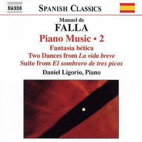 Falla - Piano Music Vol. 2 (CD)