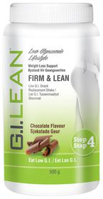 G.I. Lean Firm & Lean, Low-GI, Snack Replacement Shake - Chocolate