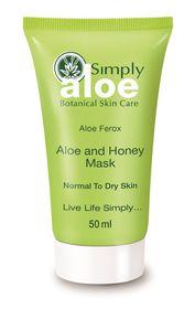 Simply Aloe Aloe and Honey Mask - 50ml