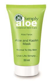 Simply Aloe Aloe and Kaolin Mask - 50ml