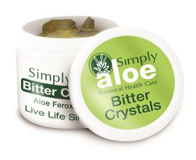Simply Aloe Bitter Crystals - 20g