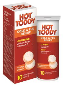Hot Toddy Cold & Flu Effervescents