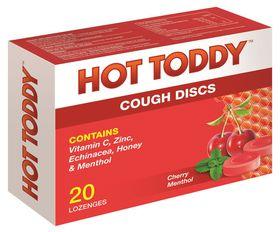 Hot Toddy Cough Discs