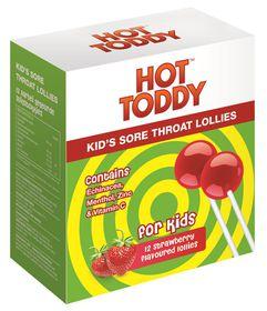 Hot Toddy Kid's Sore Throat Lollies