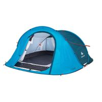 QUECHUA DECATHLON 2 Seconds Easy Camping Tent 3 People