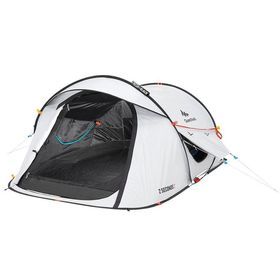 Quechua Decathlon 2 Seconds Easy C&ing Tent Sleep 2 Fresh - Black | Buy Online in South Africa | takealot.com  sc 1 st  Takealot.com & Quechua Decathlon 2 Seconds Easy Camping Tent Sleep 2 Fresh ...