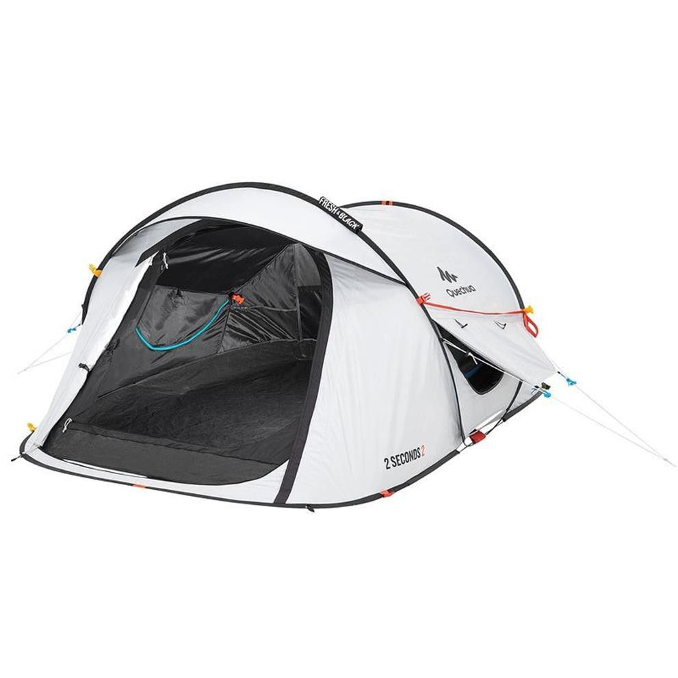 QUECHUA DECATHLON 2 Seconds Easy C&ing Tent Sleep 2 Fresh - Black  sc 1 st  Takealot.com & Quechua Decathlon 2 Seconds Easy Camping Tent Sleep 2 Fresh ...