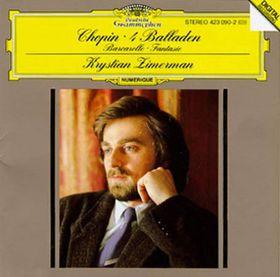 Krystian Zimerman - Ballades 1 - 4 / Barcarolle (CD)