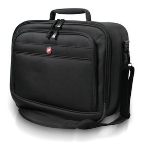 "PORT Tokyo III 15.4"" Laptop Bag with Projector / Printer Carry Bag - Black"