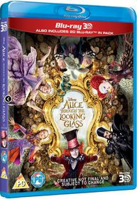 Alice Through The Looking Glass (3D + 2D Blu-ray)