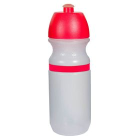 Lumoss - Sportec 9 Cyclist Bottle - 600ml Opaque With Band - Red Cap