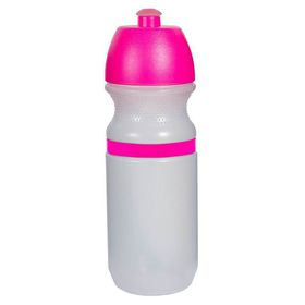 Lumoss - Sportec 9 Cyclist Bottle - 600ml Opaque With Band - Magenta Cap