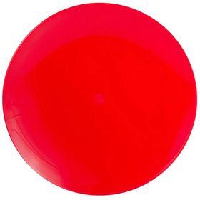 Lumoss - Lotus Dinner Plate - Red - Set Of 4