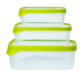 Lumoss - Container Set With TPE Seal - 3 Piece