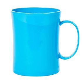 Lumoss - Plastic Mug - Cyan Blue