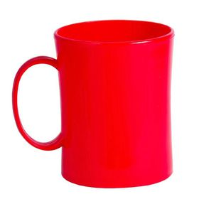 Lumoss - Plastic Mug - Red
