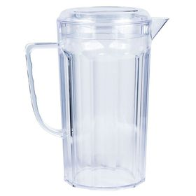 Lumoss - Plastic Jug With Lid - Clear