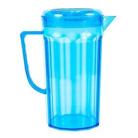 Lumoss - Plastic Jug With Lid - Turquoise
