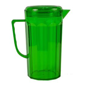 Lumoss - Plastic Jug With Lid - Emerald Green