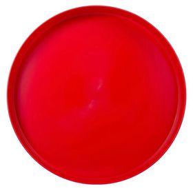 Lumoss - Plastic Round Tray 35cm - Red