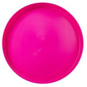 Lumoss - Plastic Round Tray 35cm - Magenta