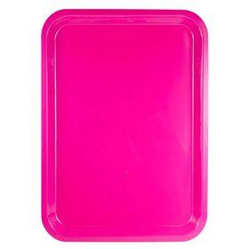 Lumoss - Plastic Rectangle Tray - 37cm x 27cm - Magenta