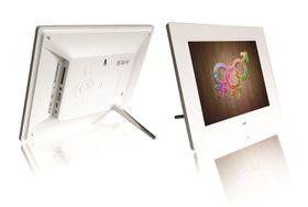Fotomate 8'' Digital Photo Frame - White