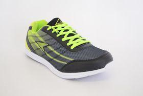 Power Edge E 215 Men's Sneakers - Black & Lime