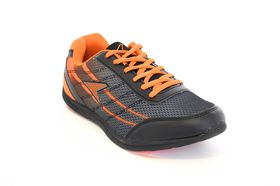Power Edge E 215 Men's Sneakers - Black & Orange