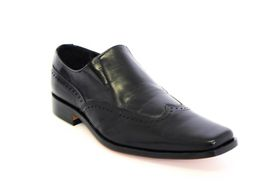 Barker Men's Slip On BA17733 - Black