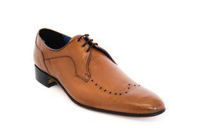 Barker Men's Formal Lace Up BA17737 Shoe - Tan