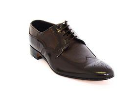 Barker Men's Formal Lace Up BA17504 Shoe - Brown & Brown