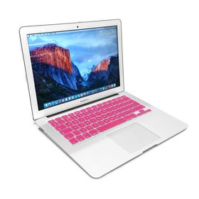 "Tuff-Luv Silicone Keyboard Cover for the Apple Macbook 13 Air/Pro and 15"" - Pink"