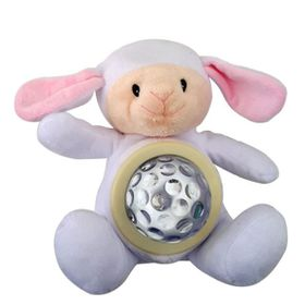 4aKid - Plush Night Light - Lamb