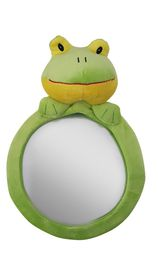 4aKid - Plush Rear-view Mirror - Froggy