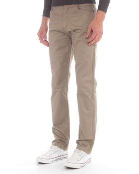 Ballantyne Men's Piped Chino - Taupe