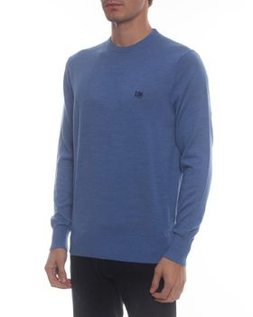 Ballantyne Men's Wildly Classic Crew Neck Jersey - Blue