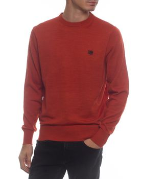 Ballantyne Men's Wildly Classic Crew Neck Jersey - Rust