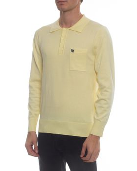 Ballantyne Men's Golfer Jersey - Lemon