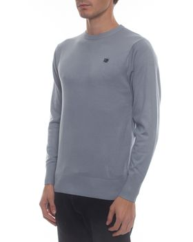 Ballantyne Men's Classic Crew Neck Jersey - Light Grey