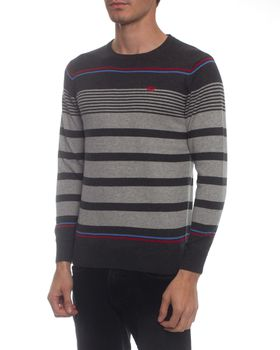 Ballantyne Men's Interval Crew Neck Jersey - Grey