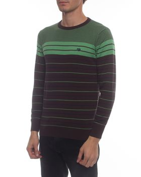 Ballantyne Men's Drummer Crew Neck Jersey - Green