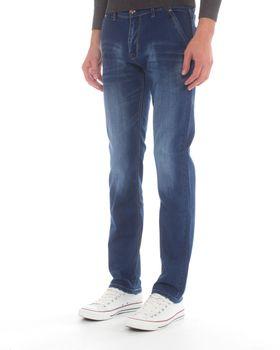 Jack-Lee Men's J'17 Straight-Leg Jeans - Blue