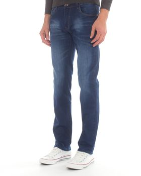 Jack-Lee Men's J'18 Straight-Leg Jeans - Blue