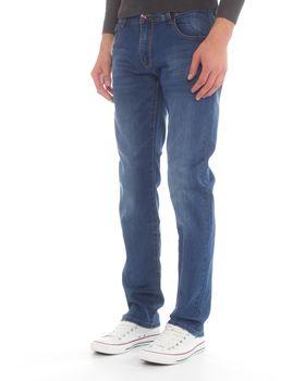 Jack-Lee Men's J'20 Straight-Leg Jeans - Blue