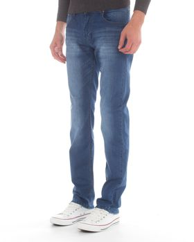 Jack-Lee Men's J'21 Straight-Leg Jeans - Blue