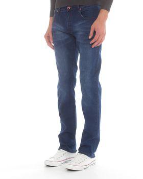 Top Warrior Men's T'35 Straight-Leg Jeans - Blue
