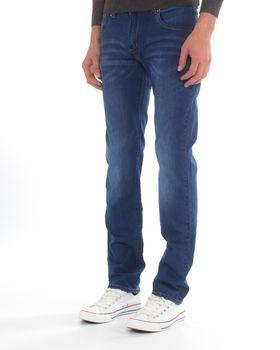 Top Warrior Men's T'45 Straight-Leg Jeans - Blue